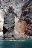 Islets and faraglioni of the Aeolian islands Stock Photos