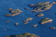 Islets on Lofoten Royalty Free Stock Image