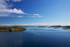 Islets in Norway Stock Photo