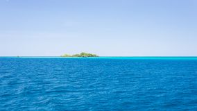 Islets among the Togian Islands Stock Image