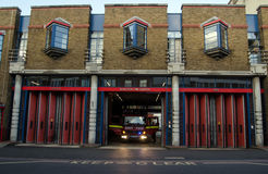 Islington Fire Station Stock Images