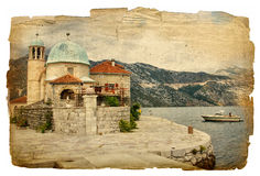 Islnads of Montenegro Royalty Free Stock Photography