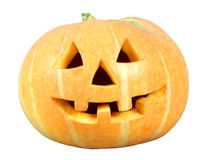 Isloate della zucca di Halloween Fotografia Stock Libera da Diritti