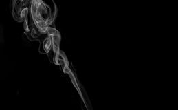 Isloated Smoke Stock Photo