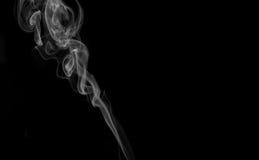Isloated Smoke. Isolates smoke on black smokey Stock Photo