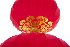 Islolated chinese traditional lantern Stock Photography