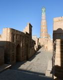 Islom hoja minaret in Itchan Kala - Khiva Stock Images