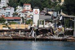 Islote de Galatasaray en Estambul Fotos de archivo