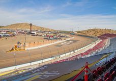 ISM Raceway - Phoenix Nascar and IndyCar. ISM Raceway formerly Phoenix International Raceway is going through some growing pains. The race track is implementing royalty free stock images