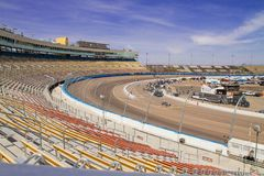 ISM Raceway - Phoenix Nascar and IndyCar. ISM Raceway formerly Phoenix International Raceway is going through some growing pains. The race track is implementing stock image