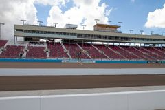 ISM Raceway - Phoenix Nascar and IndyCar. Phoenix ISM Raceway offered a sneak preview of it`s ongoing 178 million dollar upgrade project during Goodyear Monster royalty free stock images