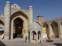 Ismael meczet, Yazd, Iran, Azja Obrazy Stock