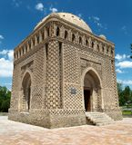Ismail Samani Mausoleum - Buchara Royaltyfria Bilder