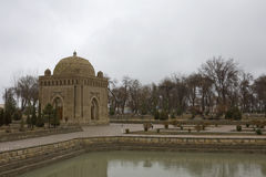 Ismail Samani Mausoleum, Bukhara, Usbequistão Foto de Stock Royalty Free