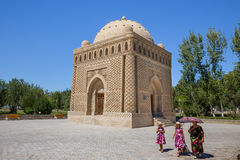 Ismail Samani Mausoleum in Bukhara, Uzbekistan Stock Photography
