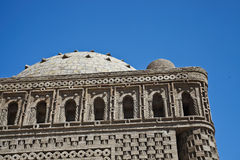Ismail Samani Mausoleum pattern, Bukhara Royalty Free Stock Photography