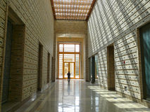 The Ismaili centre in Dushanbe. The interior of the Ismaili centre in Dushanbe, Tajikistan Stock Photo