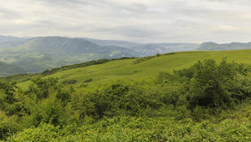 Ismayilli mountains. Azerbaijan Stock Photography