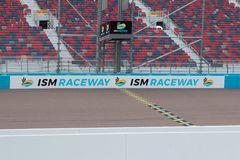 ISMkapplöpningsbana - Phoenix Nascar och IndyCar fotografering för bildbyråer