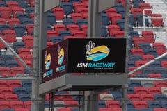 ISMkapplöpningsbana - Phoenix Nascar och IndyCar arkivfoto
