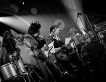 Ismo Alanko & Teho-osasto live on stage Stock Photography