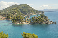 Isnad holidays Parga Greece Royalty Free Stock Photography