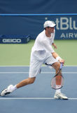 Isner Forehand Volley Stock Photo