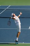 Isner Serve Royalty Free Stock Photography