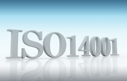 ISO 14001 Стоковые Фотографии RF