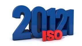 ISO 20121 royalty-vrije illustratie