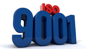 ISO 9001 Стоковое фото RF