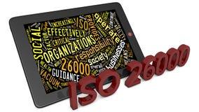 ISO 26000 lizenzfreie abbildung