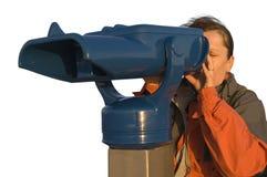 iso 4 teleskop kobieta Zdjęcia Stock