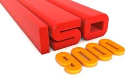 ISO 9000 stock illustratie