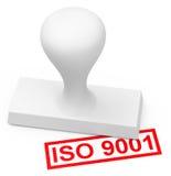 ISO 9001 Stockfoto