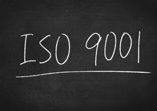 ISO 9001 Royalty-vrije Stock Foto