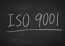 ISO 9001 Foto de Stock Royalty Free