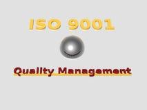 ISO 9001 Stock Image
