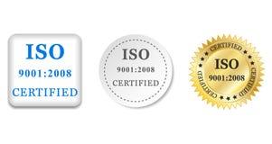 Iso 9001 2008 Stock Image