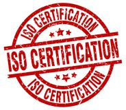 Free Iso Certification Stamp Stock Images - 122429324