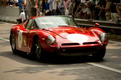 Iso Grifo at Vernasca Silver Flag 2017. 22nd Vernasca Silver Flag 2017 Stock Images