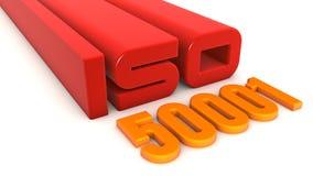 ISO 50001 Stock Image