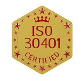 ISO 30401 standard Royalty Free Stock Photography