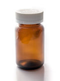 Isoalate de la botella de Brown Foto de archivo