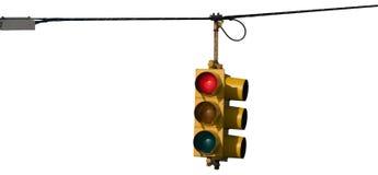 Isoalated Traffic Light Stock Image