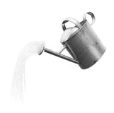 Isoalted watering can royalty free illustration