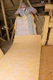 Isolação do telhado Foto de Stock