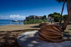 Isola二皮亚诺萨岛 免版税库存照片