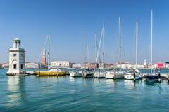 Isola圣Giorgio Maggiore在威尼斯 库存照片