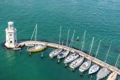 Isola圣Giorgio Maggiore在威尼斯 免版税库存图片